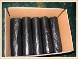 Do saco preto feito sob encomenda da camisa dos sacos de portador T da veste do PE sacos de lixo plásticos