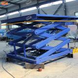 Levage de cargaison de ciseaux pour l'entrepôt