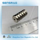 Magneet de Van uitstekende kwaliteit van de Pot NdFeB van de vervaardiging voor Industrieel