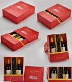 Упаковка вина новой конструкции складывая бумажная