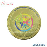 Eisen/Brass Metal Gold Souvenir Coin für Custom Gift