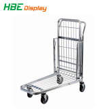 Lager-Tablette-Laufkatze-/Aufbau-Supermarkt-Einkaufswagen
