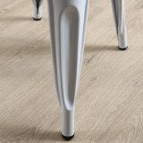 Armless Metal Cafetería Comedor Silla Silla Cocina silla lateral