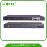 視覚の受動ネットワークのためのPon 8つのポートとのFTTH Gpon Olt