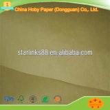 Het bruine en Witte Document van Kraftpapier voor het Afdrukken en Verpakking
