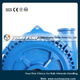 250g-Sgh Sunbo 호수 처리에 사용되는 수평한 산업 원심 진흙 펌프