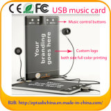 Your Branding LogoのビジネスUSB Music Card