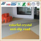 Pavimentazione antiscorrimento di cristallo variopinta della strada della regolazione veloce per l'autostazione della pavimentazione/di strada