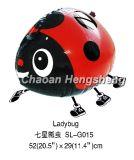 Гуляя Ladybug воздушного шара
