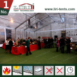 結婚披露宴およびイベントのための明確な玄関ひさしのテント