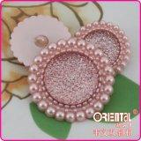 Il tasto di tibia lucido della perla del poliestere (C-451)