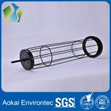 Una buena calidad de la jaula de la bolsa de filtro de acero galvanizado