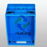 Boîte de pliage de stockage de roulement en plastique