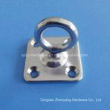 リングが付いているステンレス鋼の正方形の目の版