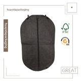 Ecoの友好的なちり止めの高品質Foldable PP非編まれたファブリック衣服のスーツカバー袋