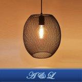 a&L 최신 판매인 포도 수확 금속 와이어 펀던트 램프