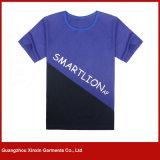 カスタマイズされた昇進の黒人男性プリント綿のTシャツ(R171)