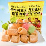Máquina de empacotamento automática do alimento da pipoca coreana do trigo