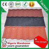 나이지리아 창고 최신 판매 지붕용 자재 돌 입히는 루핑 장