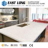 Belle pierre de quartz blanc de Carrare Engineered Stone/ comptoirs