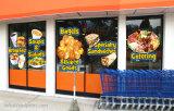 Стикер окна торгового центра/супермаркета/цепного магазина печатание полного цвета изготовленный на заказ