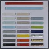 Mosaico de vidrio colorido frontera