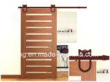 Matériel de porte coulissante pour la porte de grange glissant le matériel de piste (Ls-Sdu-009)