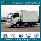 Sinotruk Cdw軽いヴァンのトラック販売のためのディーゼルボックストラック