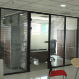 Double Knell Aluminum Partition Door for High-Grade Office