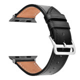 Appleの腕時計シリーズのための本革のブレスレットストラップ1/2/3のループバンド