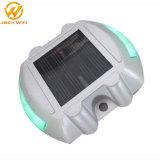 Cor do LED personalizados Marcador Estrada solar de alumínio