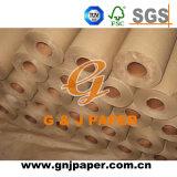 Brown réutilisé stable Papier d'emballage/papier de métier en roulis pour le sac