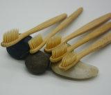 Ursprünglicher Bambuszahnbürste-Vertrags-Kopf-Bambusholzkohle-Zahnbürste
