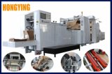 El aire de 3 pulgadas Pnematic del eje de la carga de fondo en V Bolsa de papel que hace la máquina con dos colores de la máquina de impresión Flexo en línea