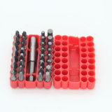 Magnetic Extension Bit Holder를 가진 CRV Material Security Bit Set