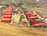 지도하 아연 광석 선광 공장