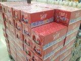 تقلّص لفاف معدّ آليّ/آلات لأنّ محبوب زجاجات مع صينيّة