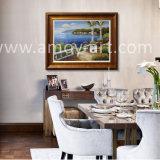 Mer Méditerranée paysage Huile sur Toile Canvas Art pour décoration murale