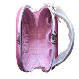 Het roze Hello Leer van de Pot Pu maakt omhoog tot Zak Kosmetische Vitrine om Te reizen