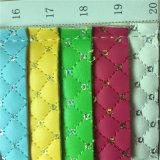Moda bordados de grade pequena bolsa de couro artificial Sequin bordados