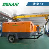 Nuevo compresor de aire móvil portable diesel del tornillo (petróleo inyectado)