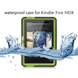 Hotsellingの防水3証拠の装甲タブレットの箱はのための火Hdxを燃やす
