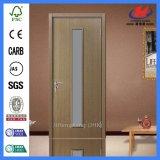 Puerta de cristal de madera moldeada el panel de 5 MDF/HDF