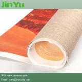 390 gramos de impresión de inyección de tinta solvente brillante Poly-Cotton Lienzo Arte
