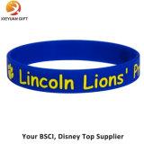La venta al por mayor promocional se divierte el Wristband del silicón
