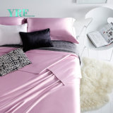insiemi lussuosi 100% dell'assestamento di colore rosa del motel del cotone 4PCS