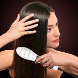 Balai chaud de redresseur de cheveu d'étoile de beauté de peigne d'écran LCD de vente