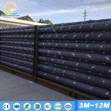 rua solar pólo claro de 6m