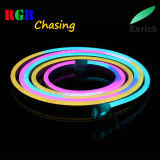 DC24V RGB het Achtervolgen van de Kleur van de droom Digitale LEIDEN Neon Flex voor OpenluchtDecoratie