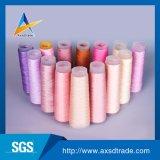 未加工白の縫う糸のための100%回されたポリエステルヤーン40s/2